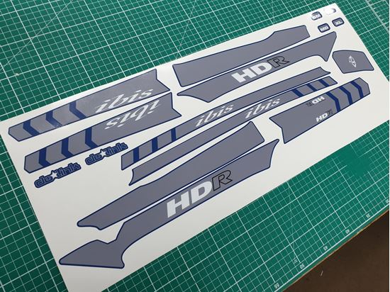 Picture of IBIS Mojo HDR  2015 Stickers
