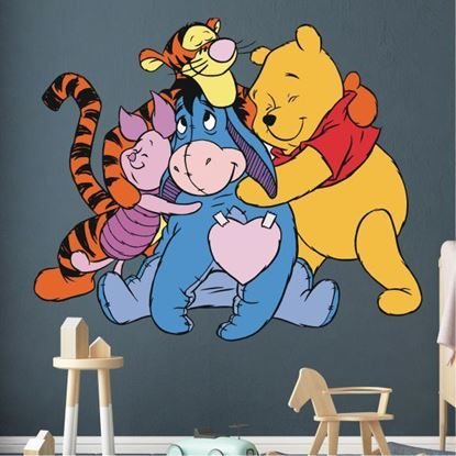 Picture of Winne the Pooh and Friends Wall Art sticker