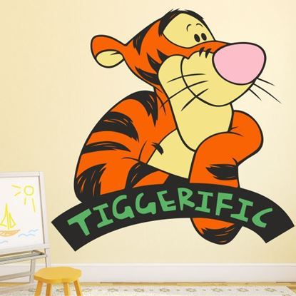 "Picture of Tigger ""Tiggerific"" Wall Art sticker"