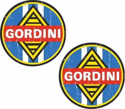 Picture of Renault Gordini general panel Decals / Stickers