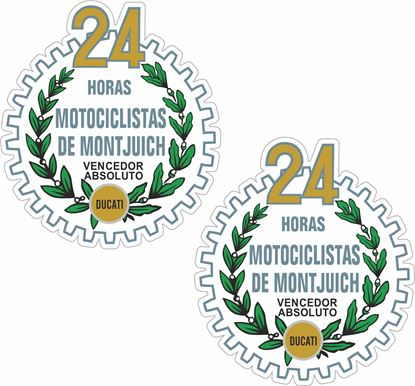 Picture of Ducati 24 horas motociclistas de montjuic Decals / Stickers