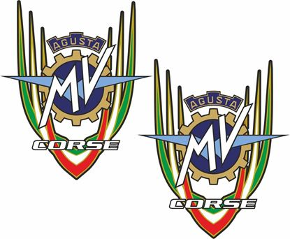 Picture of MV Agusta Corse Decals / Stickers