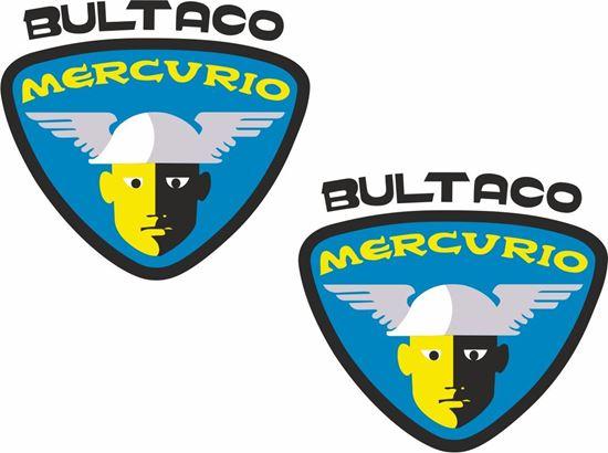 Picture of Bultaco Mercurio Decals / Stickers