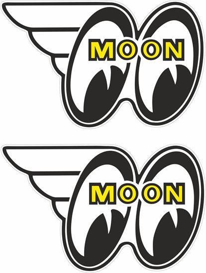 Picture of Moon Eyes general panel Decals / Stickers