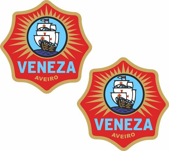 Picture of Veneza Motorizadas Aveiro Motorcycle Decals / Stickers