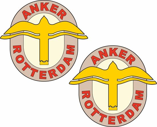 Picture of Anker Rotterdam Motorcycle Decals / Stickers