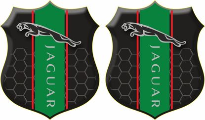 Picture of Jaguar Wing / Panel Badges 80mm