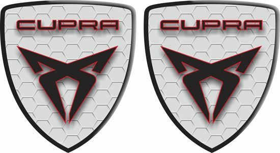 Picture of Seat Cupra wing Decals / Stickers