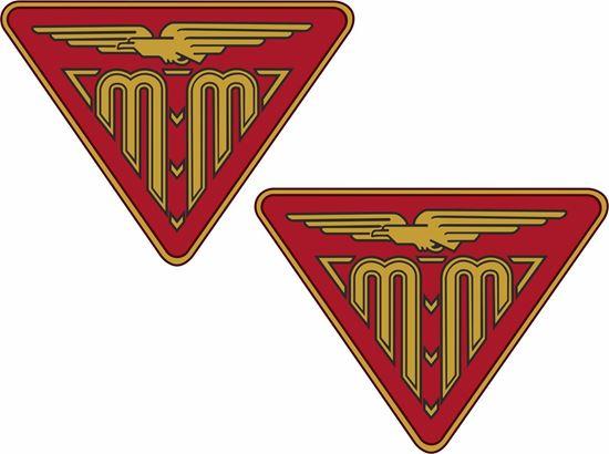 Picture of Mazzeti Morini Motorcycle Decals / Stickers