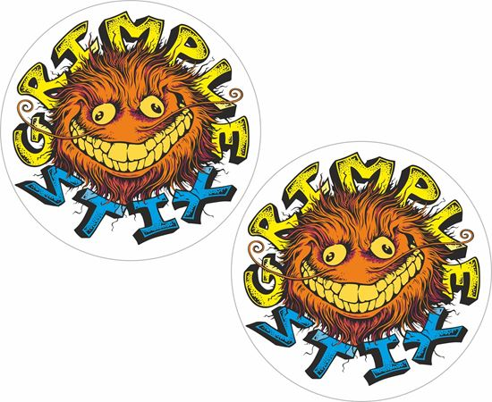 Picture of Grimple Stix Decals / Stickers