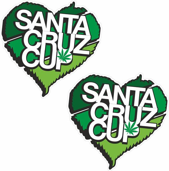 "Picture of ""Santa Cruz Cup""  Decals / Stickers"