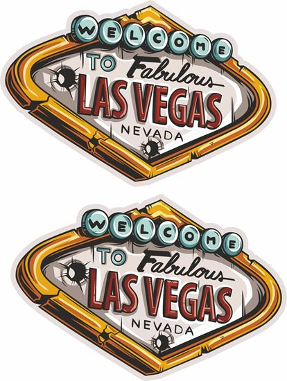 "Picture of ""Las Vegas""  Decals / Stickers"