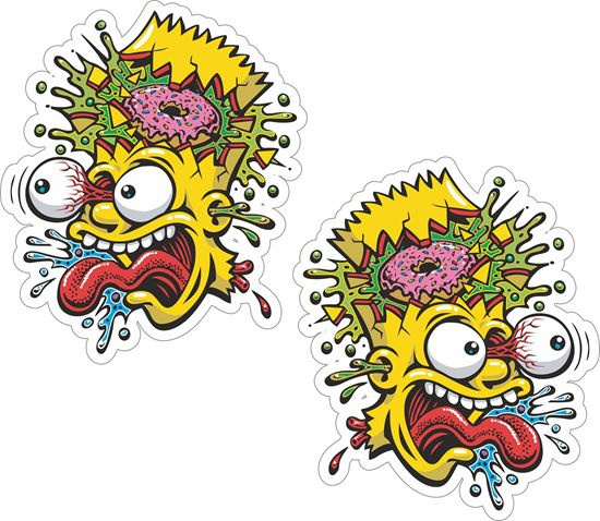 Picture of Bart Simson Decals / Stickers