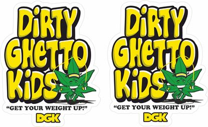 Picture of DGK Decals / Stickers