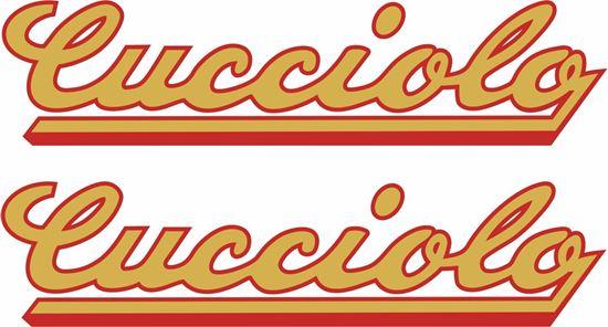 Picture of Ducati Cucciola Decals / Stickers