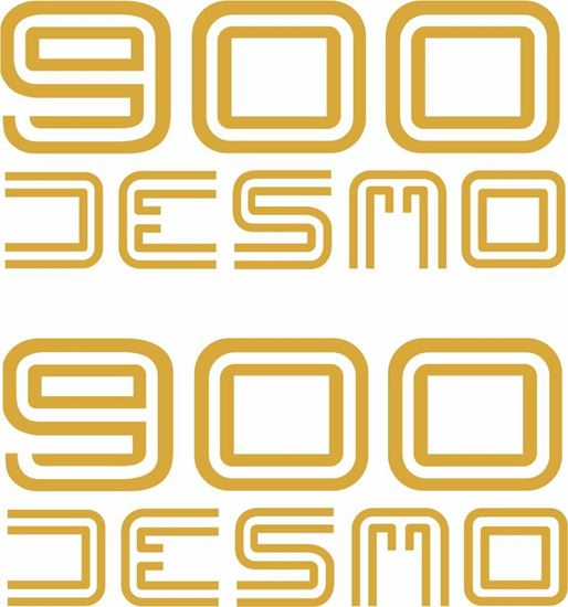 Picture of Ducati 900 Desmo replacement Decals / Stickers