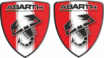 Picture of Fiat Abarth wing Badges 60mm