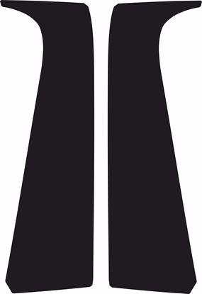 Picture of Citroen C1 3 Door B Pillar textured protection Vinyl / stickers