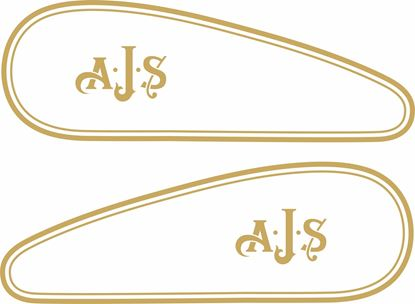 Picture of A.J.S Fuel Tank Stripes / Decals
