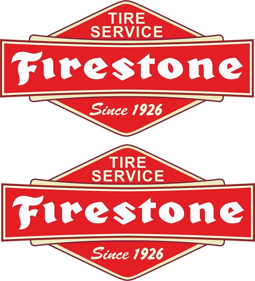 Picture of Firestone Decals / Stickers