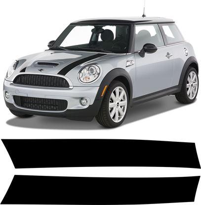 Picture of Mini R55 / R56 / R57 / R58 / R59 Bonnet Stripes SINGLE COLOUR