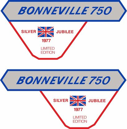 Picture of Triumph bonneville 750 Decals / Stickers