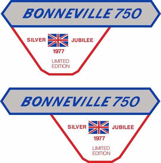 Picture of Triumph bonneville 750 Decals / Stickers
