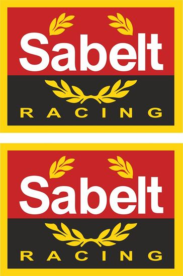 """Picture of """"Sabelt Racing"""" Decals / Stickers"""