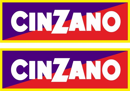 "Picture of ""Cinzano"" Decals / Stickers"