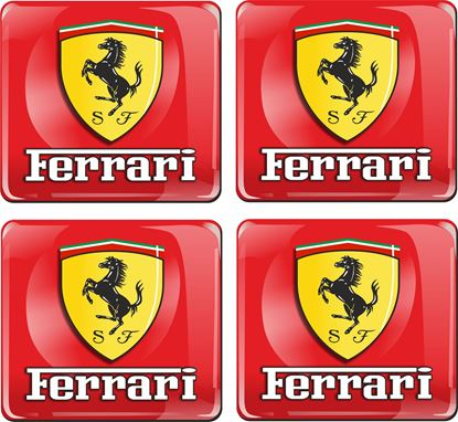 Picture of Ferrari Adhesive gel Badges