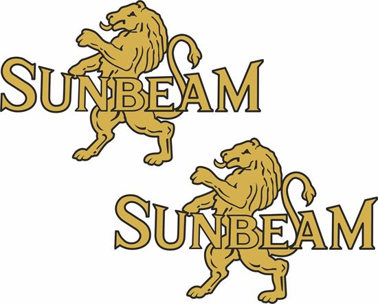 Picture of Sunbeam Motorcycle Decals / Stickers