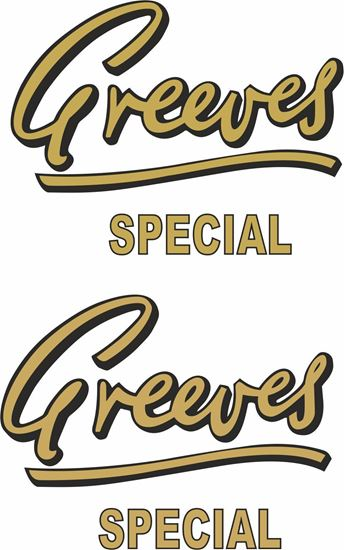 Picture of Greeves Special Decals / Stickers