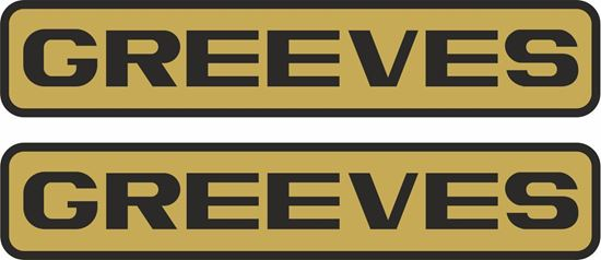 Picture of Greeves Decals / Stickers