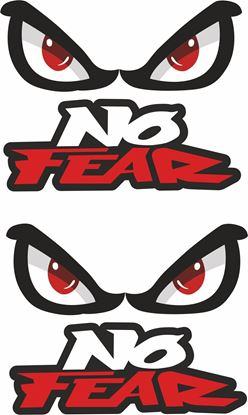 Picture of No Fear Decals / Stickers