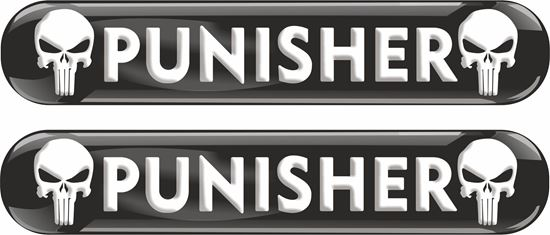 Picture of Punisher 70mm Exterior Gel Badges