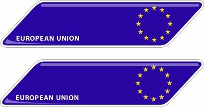 Picture of European Union 70mm Exterior Gel Badges