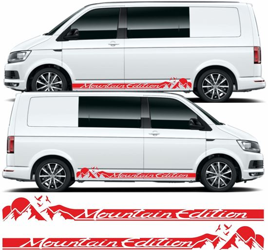 "Picture of VW T5 / T6 ""Mountain Edition"" Stripes / Stickers"