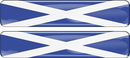 Picture of Scotland  70mm Exterior Gel Badges