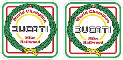 Picture of Ducati Mike Hailwood  World Champion Decals / Stickers