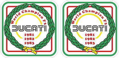 Picture of Ducati World Champion F2 Decals / Stickers