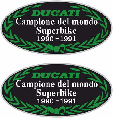 Picture of Ducati World Champione del mondo Pantah Decals / Stickers