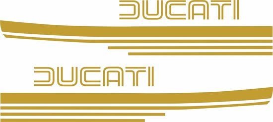 Picture of Ducati 900 Super Sport replacement Tank Decals / Stickers