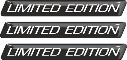 """Picture of """"Limited Edition"""" 100mm adhesive Badges"""