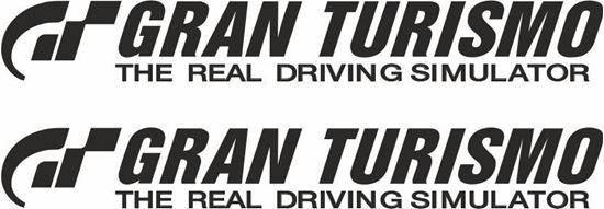 Picture of Gran Turismo Decals / Stickers