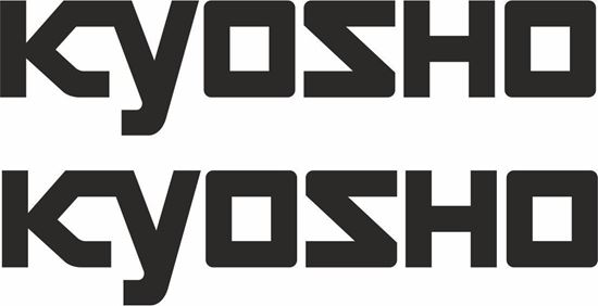 Picture of Kyosho panel / Glass Decals / Stickers