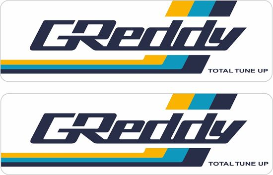 """Picture of """"Greddy"""" Decals / Stickers"""