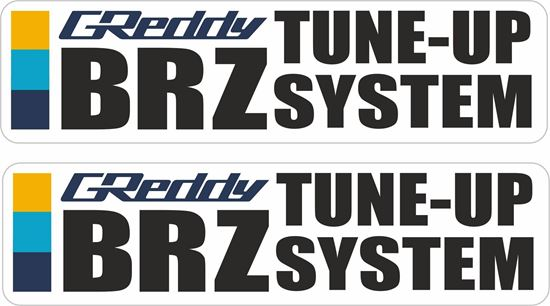 "Picture of ""Greddy BRZ...""Decals / Stickers"