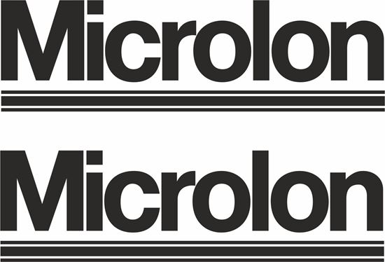 """Picture of """"Microlon""""  Decals / Stickers"""