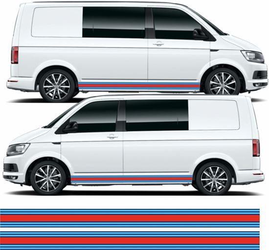 Picture of VW T5 / T6 Martini Stripes / Stickers