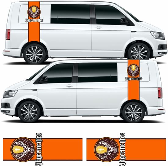 Picture of VW T5 / T6 Jagermeister Stripes / Stickers